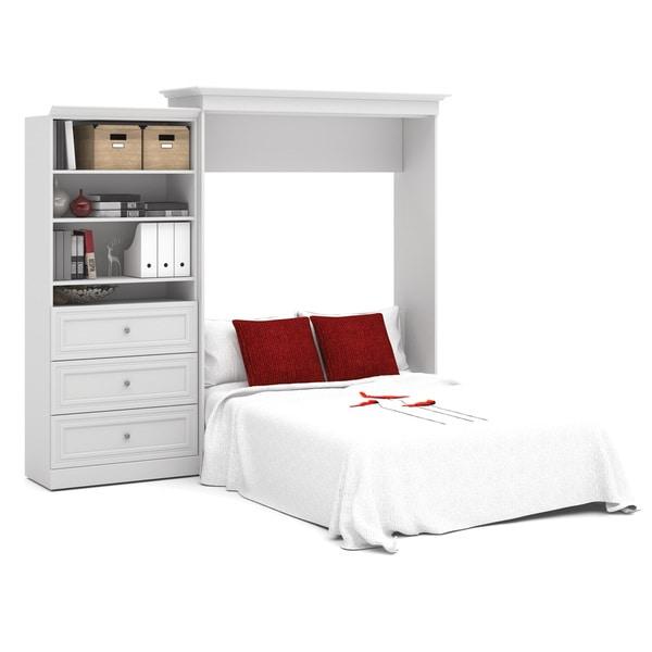 versatile by bestar 101inch queensize wall bed kit