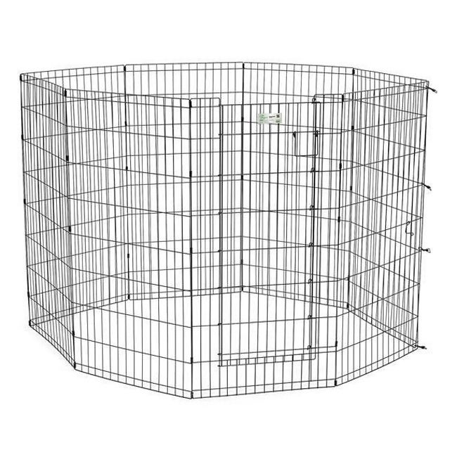 "Midwest Life Stages Pet Exercise Pen with Door (24""W x 30..."