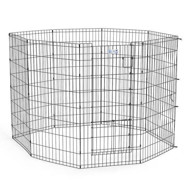 "Midwest Life Stages Pet Exercise Pen (24""W x 48""H 8 panel..."