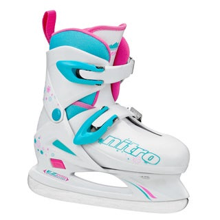 NITRO 8.8 Girl's Adjustable Figure Ice Skate (3 options available)