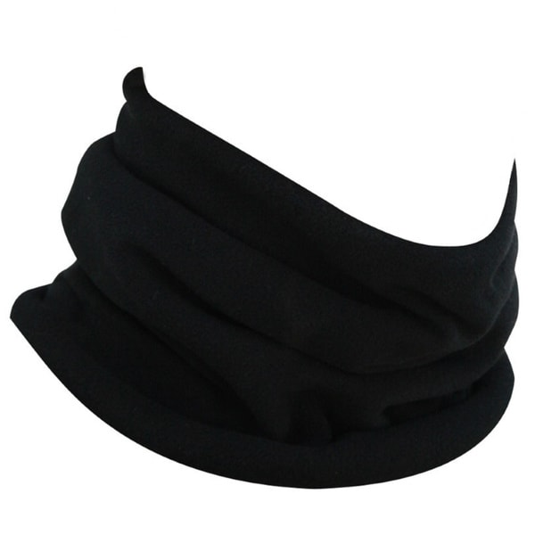 ZANheadgear WFMFN114 Polyester Fleece Neck Warmer Black
