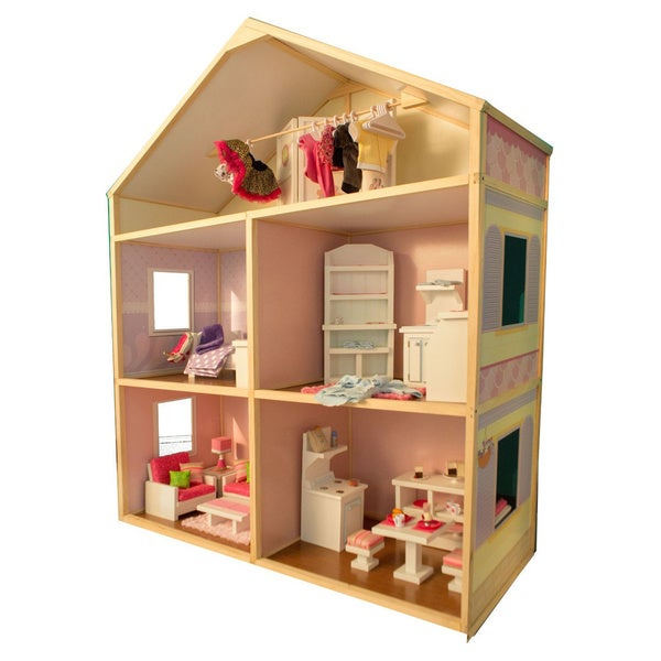 Wicked Cool Toys My Girls Sweet Bungalow Dollhouse