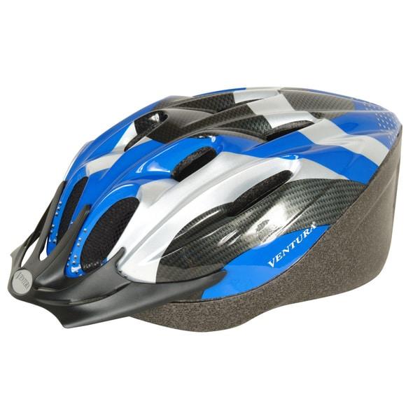 Blue Carbon Microshell Medium Helmet (54-58 cm)