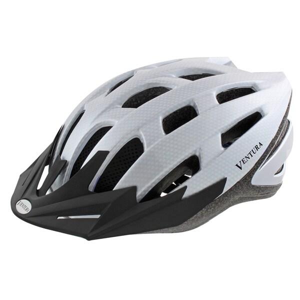 White Carbon Sport Helmet