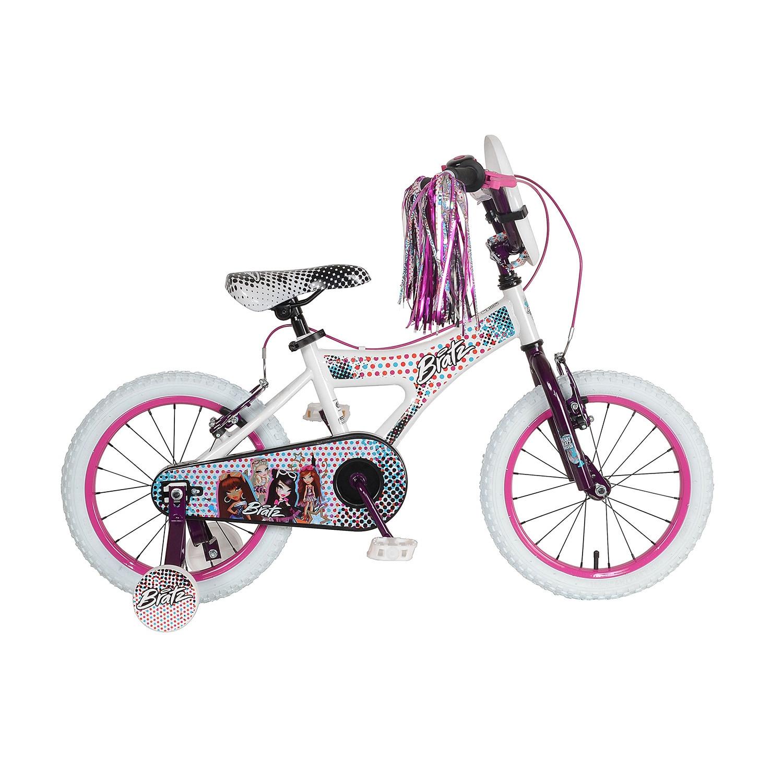 Bratz 16 inch White/Purple Bike (16 inch White/Purple Bik...