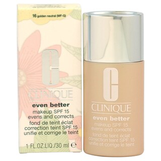 Clinique Even Better Makeup SPF 15 #16 Golden Neutral (MF-G)-Dry To Combination Oily Skin Foundation