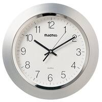 Clay Alder Home Wanette Silvertone 14-inch Wall Clock