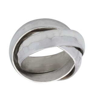 Kele & Co .925 Sterling Silver Triple Band Ring