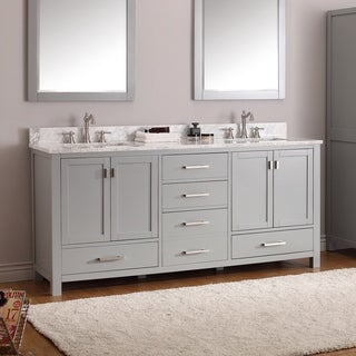 Avanity Modero Double Vanity Combo in Chilled Grey
