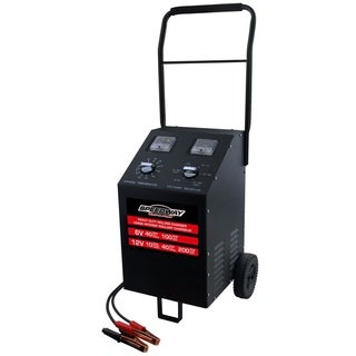 Speedway Heavy Duty 6/12 Volt Roll Around Battery Charger and Starter