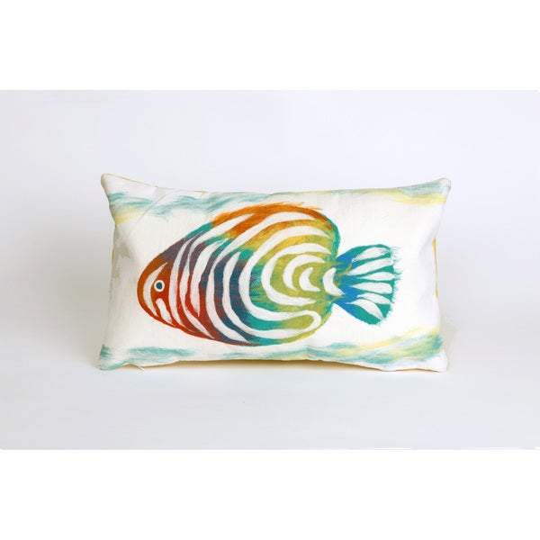 Shop Tropical Fish Indoor Outdoor Throw Pillow On Sale Ships To