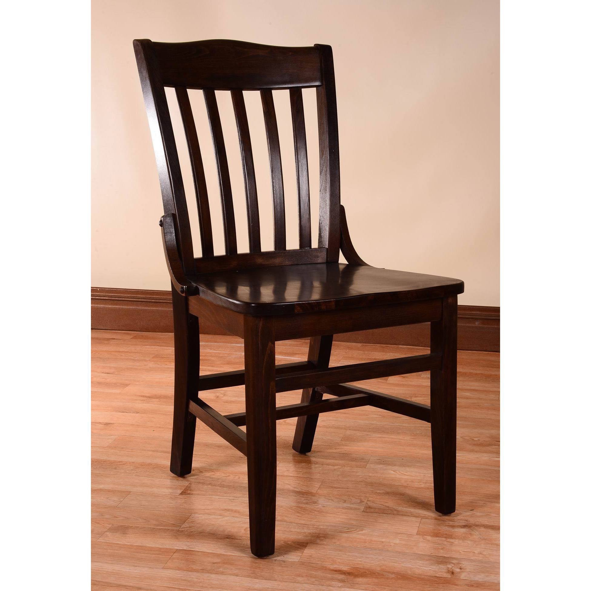 Gracewood Hollow Mantel School House Dining Chairs (Set Of 2)