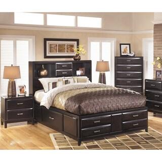 Signature Designs By Ashley Kira Black Storage Bed Set
