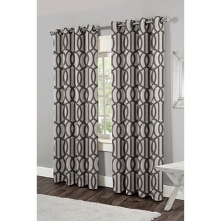 Trincity Grommet Top 84-inch Curtain Panel Pair