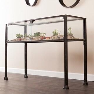 harper blvd display terrarium console sofa table - Metal Console Table