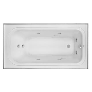 Clarke Product 'Vision' Left-skirted Acrylic Whirlpool Tub