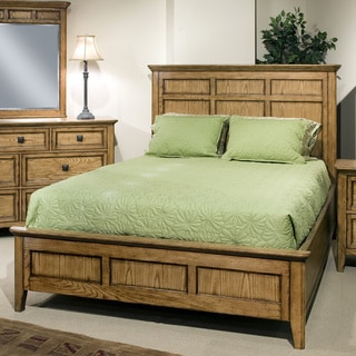 Intercon Alta Solid Ash Panel Bed. Ash Finish  Wood Bedroom Furniture   Overstock com Shopping   All