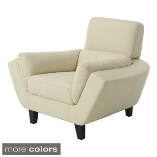 New Zealand Bonded Split Leather Club Chair