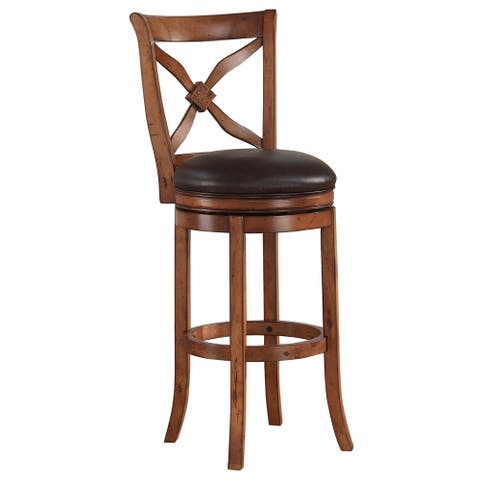 Copper Grove Sequoia 360-degree Swivel Extra Tall Bar Stool