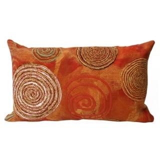 Liora Manne Multi Spiral Decorative Throw Pillow