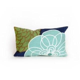 Liora Manne Modern Flower Decorative Throw Pillow
