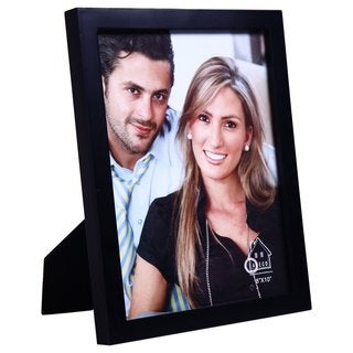 Adeco Black 8x10 Table-top Photo Frame