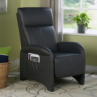 Simple Living Addin Charcoal Grey Recliner