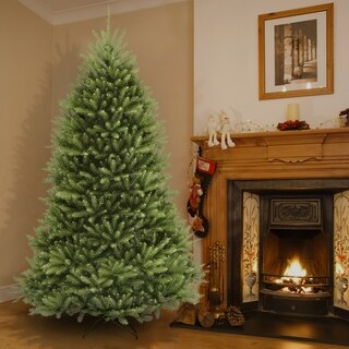 Link to 9-foot Dunhill Fir Hinged Tree Similar Items in Christmas Greenery