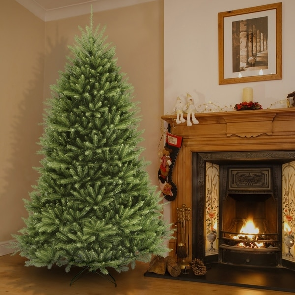 9-foot Dunhill Fir Hinged Tree. Opens flyout.