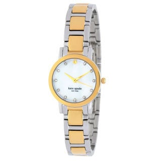kate spade New York Women's 1YRU0147 'Gramercy Mini' Two-tone Stainless Steel Watch