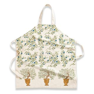 Couleur Nature Olive Tree Gold/ Blue Apron