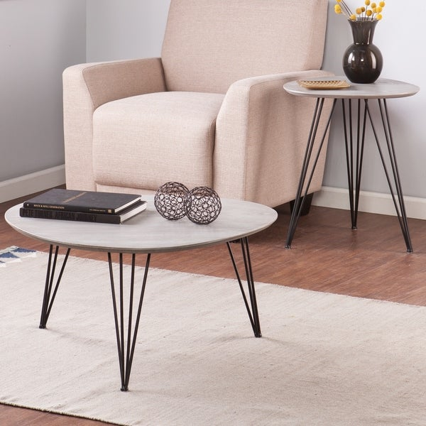 Hideout End Table Free Shipping: Holly And Martin Bannock 2pc Table Set