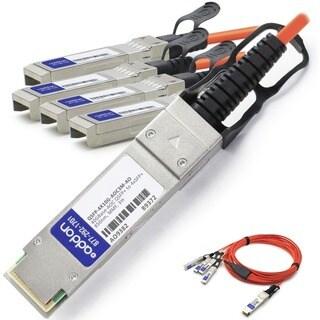 AddOn Cisco QSFP-4X10G-AOC3M Compatible TAA Compliant 40GBase-AOC QSF