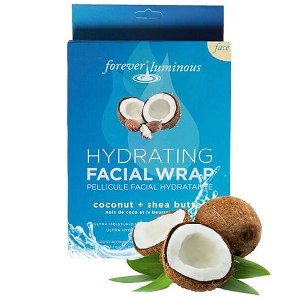 Forever Luminous Coconut/ Shea Butter Hydrating Pellicule Facial Wraps (Set of 3)
