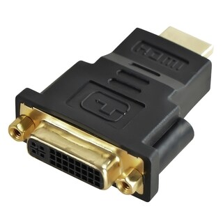 INSTEN Black HDMI Male to DVI Female Adapter