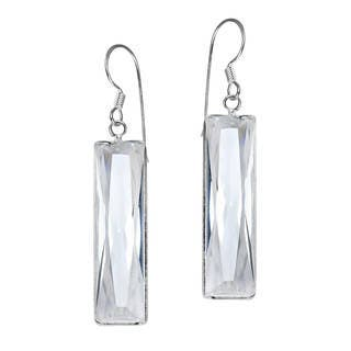 Handmade Modern Rectangle Cubic Zirconia Prism .925 Silver Earrings (Thailand)|https://ak1.ostkcdn.com/images/products/9407347/P16595293.jpg?impolicy=medium