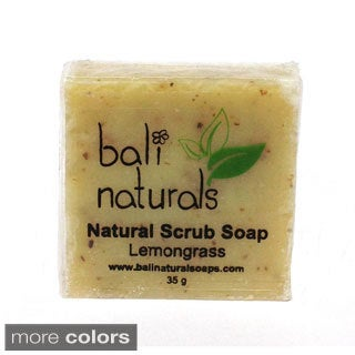 Bali Naturals by Neda Behnam Natural Body Scrub 1.2-ounce Soap