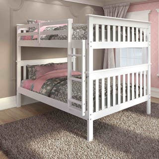 Donco Kids Mission Full Bunk Bed and Optional Storage Drawers or Twin Trundle|https://ak1.ostkcdn.com/images/products/9407539/P16595517.jpg?impolicy=medium