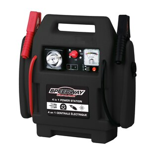 Speedway Black 4-in-1 Power Station