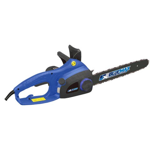 Blue Max 16-inch Electric Chainsaw with Twist Chain Tensioner - 16 in