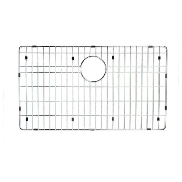 Highpoint Collection Chrome Stainless Steel Bottom Grid