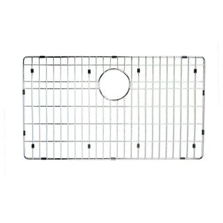 Highpoint Collection Chrome Stainless Steel Bottom Grid for Zero-radius Highpoint Ledge Sink