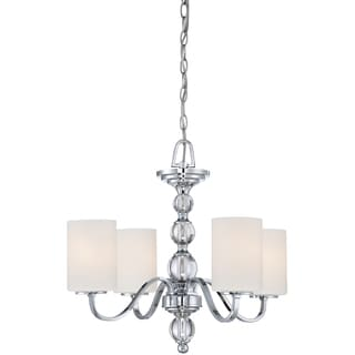 Quoizel Downtown 4-light Polished Chrome Chandelier