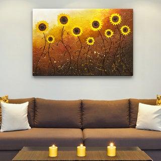 'Sunflower Meadow' 28 x 42 Canvas Wall Art