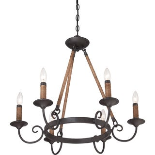 Quoizel Bandelier 6-light Imperial Bronze Chandelier