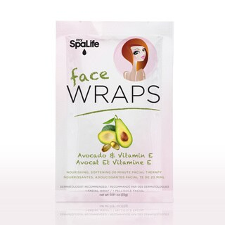 My Spa Life Avocado and Vitamin E Nourishing Smooth Facial Wraps