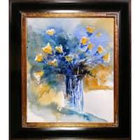 Pol Ledent 'Still Life 566456' Framed Print Art