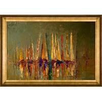 Justyna Kopania 'Boats' Framed Print Art
