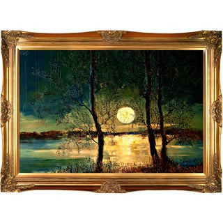 Justyna Kopania 'Moon' Framed Print Art