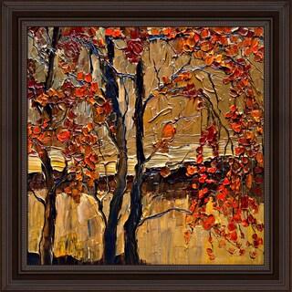 Justyna Kopania 'Autumn (tree)' Framed Print Art